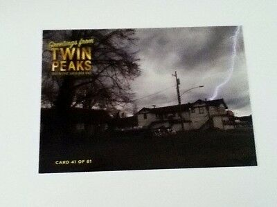 Twin Peaks Gold DVD Box Postcard - No. 41 - The Roadhouse - Rare
