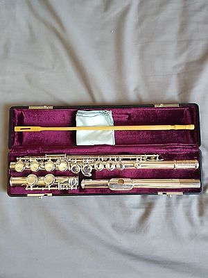 Jupiter Flute JFL-511E-ii with Hard and Soft Case- Silver Plated