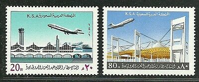 Saudi Arabia 1981 Very Fine MNH Stamps Scott # 818-9 CV 4.50 $