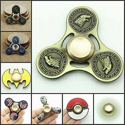 Game of Thrones Hand Spinner Finger Super Heroes Fidget EDC Game Metal Gyro Toy