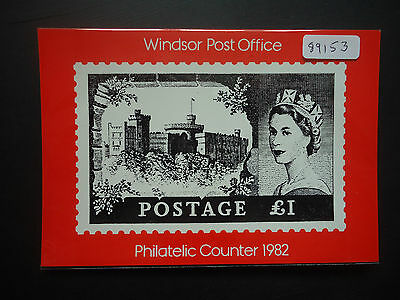 Great Britain 1982 Philatelic Counter (SEPR 28) Postcard Unused