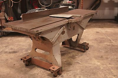 "Joiner-Planer 20"" 5 HP 3 Phase motor"