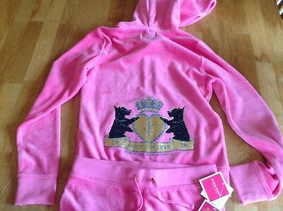gorgeous juicy couture hoodie and pants all tags on cost  £185 new girls age 10