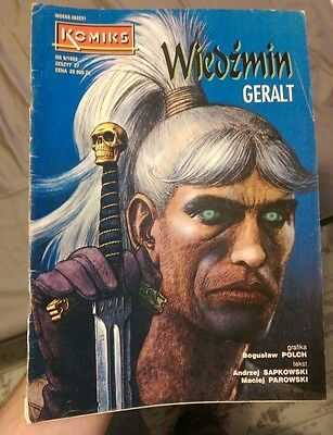 Witcher comic book vintage rare 1993