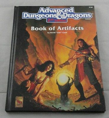 Advanced Dungeons & Dragons 2nd Ed: Book of Artifacts TSR2138 Hardcover AD&D