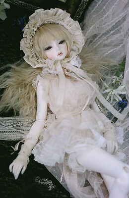 BJD SD Doll LITTLE MONICA Chloe With Eyes Free FaceUp Body of your choice