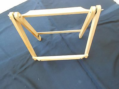 BWH Folding Portable Ratcheted  Desk Easel Artist Wooden - Double sided use.