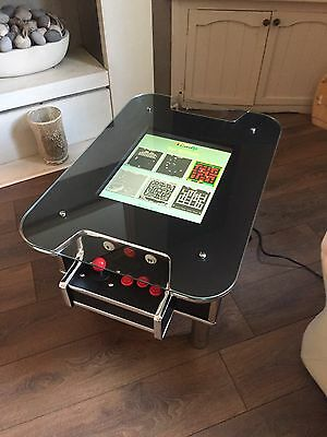 Arcade Game Coffee Table. PAC man, Space Invaders Retro 60 Games. 1/2 Player