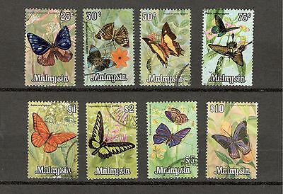 Malaysia 1970 Butterfly Definitive Complete Fine Used Set