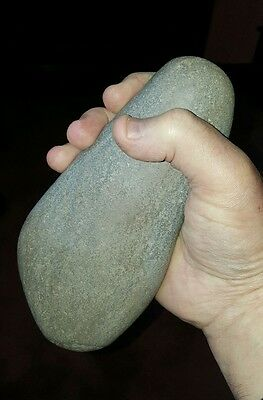 A large neolithic hammer stone uk found.