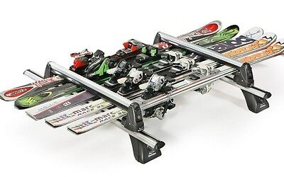 Rider 5 Aluminum Green Valley Ski Roof Rack / Snowboarding Universal 6 Sci O 4
