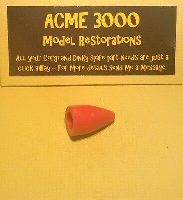 Corgi 1113 Corporal Missile Reproduction Repro - Red Rubber Nose Cone