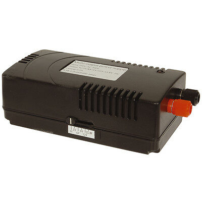 NEW Switchmode Mains Adaptor 3 - 13.8VDC 2.5A MP3308
