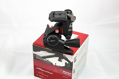 Manfrotto MHXPRO-3WG - Testa a cremagliera - Geared head