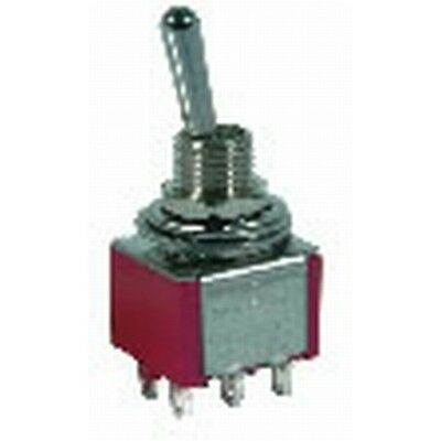 NEW Switch Tgl Mini CTR-OFF DPDT MOM ST0358