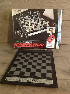 Saitek Kasparov Mk12 Trainer Electronic Chess Computer Board Only