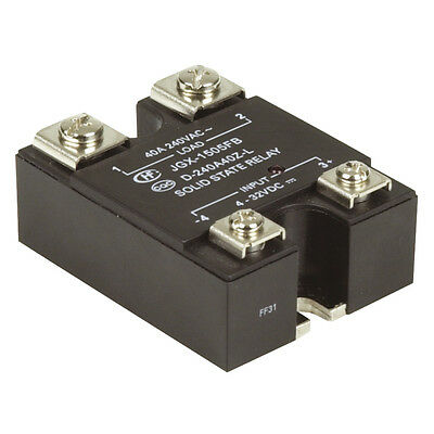 NEW Solid State Relay 4-32VDC Input, 240VAC 40A Switching SY4084