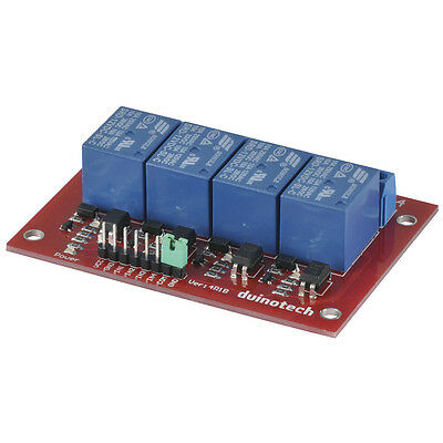 NEW Arduino Compatible 4 Channel 12V Relay Module XC4440