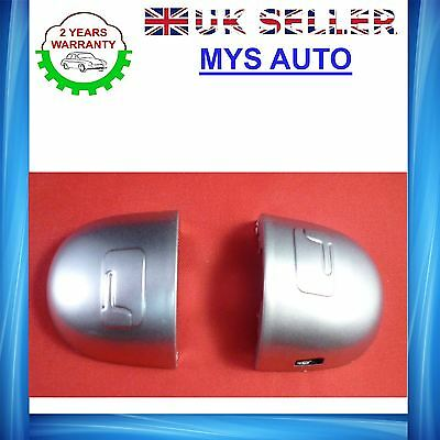 RENAULT Megane Scenic door handle cover grey door lock cover silver left side X2