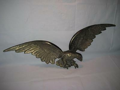 Large Metal Bronze Finish AMERICAN EAGLE - Patriotic Wall Art / Door Topper