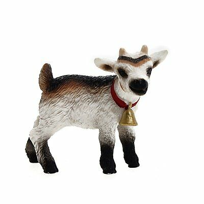 Schleich Domestic Kid Goat Toy Figure Hand Painted Detailed