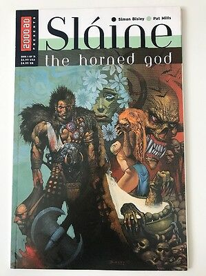 Slaine: The Horned God - 1998 1 of 3 - 2000AD Pat Mills Simon Bisley - VGC Comic