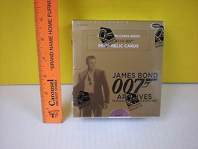 2014 James Bond 007 Archives Full Box #5412 - Autographed & Prop Relic Cards