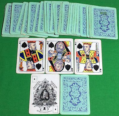 Antique 1886 ** DEAKIN'S POLITICAL ** Playing Cards IRISH HOME RULE 1st Edition