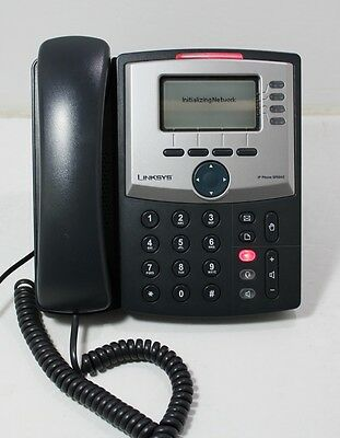 Cisco Linksys IP Phone SPA942 With Stand No Power Adapter Tested Working