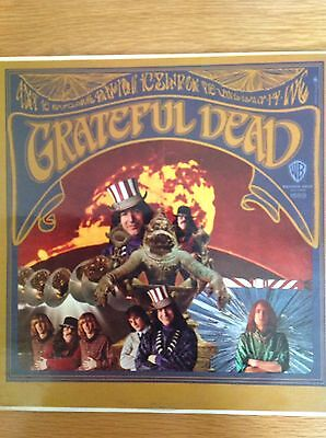 The Grateful Dead: Self Titled: Vinyl:  UK First Press: 1967: WB Gold Label
