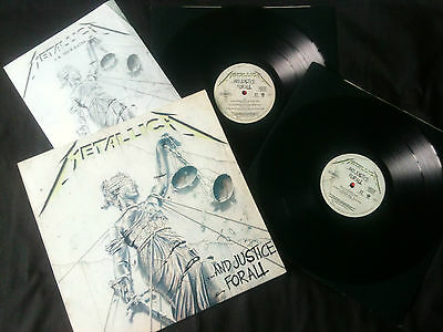 Metallica - And Justice For All  2LP UK  1988  EX/VG+   # Thrash / Speed
