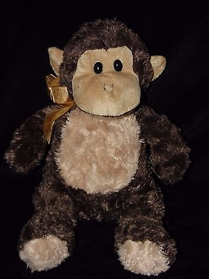 Chad Valley Monkey Soft Toy Brown Cheeky Chimp Comforter Doudou