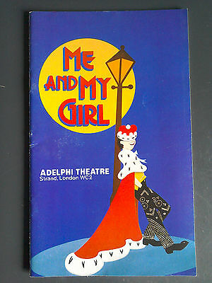 Me And My Girl With Emma Thompson 1985 Adelphi Theatre Original Programme