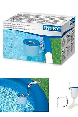 Pool Surface Skimmer Intex Deluxe Wall Mount Pool Cleaning Vacuum Equipment