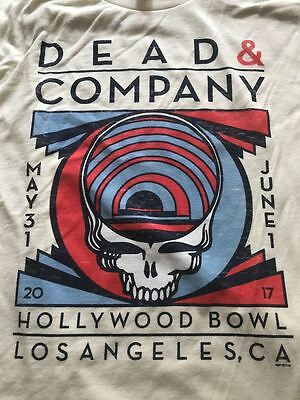 Dead And Company Hollywood Bowl Small Shirt Grateful Dead.sold Out! My Last One