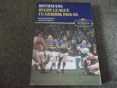 Rothmans Rugby League Yearbook 1984-85 4Th Year