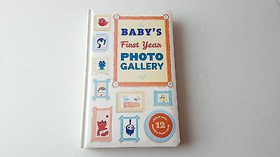 Baby's First Year Photo Gallery Book Keepsake Album
