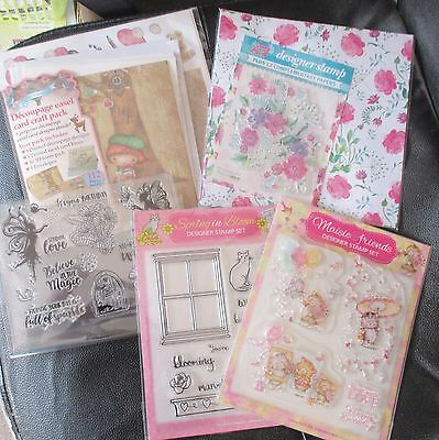 Craftroom Clearout Collection of Stamps & Papers