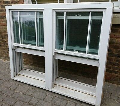Two Double glazed sash windows (price for 1)