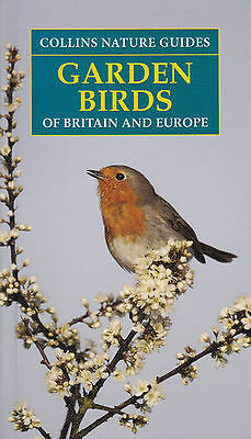 Collins Nature Guides Garden Birds Of Britain And Europe NEW BOOK Paperback 2016