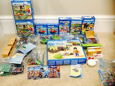Playmobil bundle job lot mixed Summer Fun/country/city Life animals ect
