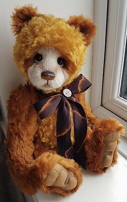 Charlie Bears Thompson Brand New 2017 Collection Stunning Bear!!