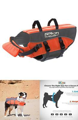 Outward Hound Ripstop Large Dog Life Jacket Life Preserver for Dogs, Large New
