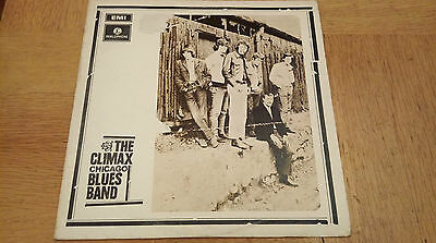 The Chicago Climax Blues Band - Parlophone Stereo PCS7069 Y/B orig plays EX