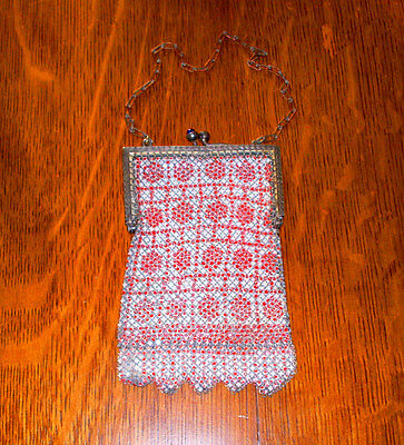 1920's to 30's ((( VINTAGE MESH PURSE )))