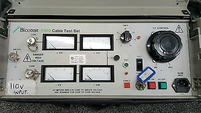 Bico Test P109 + Capicitor Bank With T103A Limiter For Cable Fault Finding