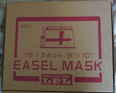 "LPL 8""x10"" DARKROOM EASEL MASK (BOXED)"