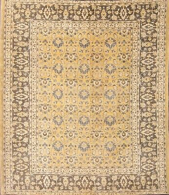 New Excellent Floral 8x9 Tabriz Mahal Persian Area Rug Oriental Wool Carpet