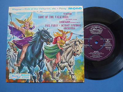 "Wagner Ride Of The Valkyries 7"" Single Mono Uk Vg *uk P+P 4 For £2*"