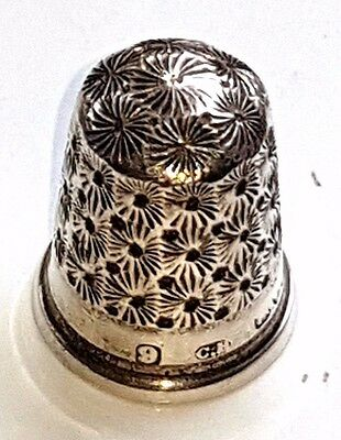 Silver Thimble Charles Horner Chester
